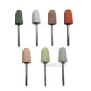 Rubber Grinding Head Tools For Polishing Machine Buffing Ear Impression