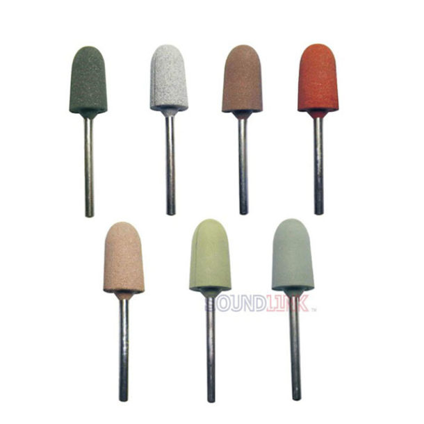 Rubber Grinding Head Tools For Polishing Machine Buffing Ear Impression 1