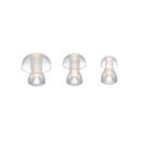 Silicone Earplug Transparent Eartip Full Set For Hearing Aids