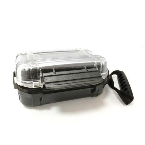 square-carrying-black-transparent-cases-for-cellphone-earphone-headset